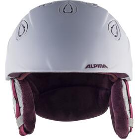 Alpina Grap 2.0 Casco de esquí, lilac-cassis matt